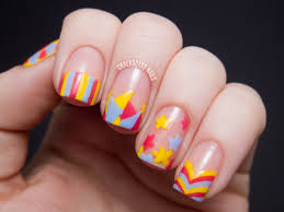 sweet spring mix over chalkboard nails nail art blog