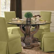 traditional round glass dining table incredible traditional glass dining tables with glass dining table