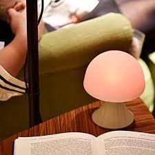 kids night light with timer welltop multicolor led night light silicone mushroom nursery