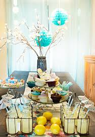 baby shower table decoration decorating a modern baby shower ideas