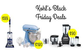 kohls kitchenaid mixer black friday kohl u0027s deals stand mixer vacuum blender more southern savers