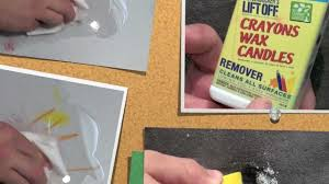 Remove Candle Wax From Laminate Floor Lift Off Crayon Wax U0026 Candle Remover Youtube