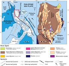 Luzon Map Geology Of The Didipio Region And Genesis Of The Dinkidi Alkalic