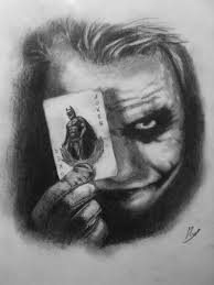 heath ledger joker by martificiam on deviantart