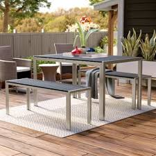 Modern Patio Dining Sets Modern Outdoor Dining Sets Allmodern