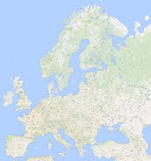 Google Map Of World by A High Resolution Map Of Europe Extracted From Google Maps