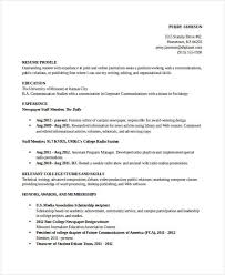Honors And Awards In Resume 31 Resume Format Free Word Pdf Documents Download Free