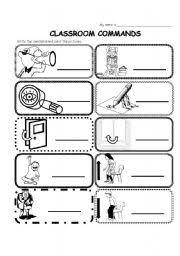 classroom commands phrases easy