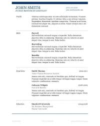Resume Templates On Word 2007 Microsoft Publisher Resume Templates Simple Best Resume Example