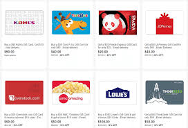 e gift card amc discount ebay gift card sale 20 toys r us 10 kohl s more