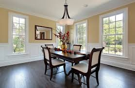 Table With Slide Out Leaves Dining Room Dining Room In New Construction Home Bronze Dining