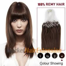 hair extensions canada 16 medium brown 4 100s micro loop human hair extensions
