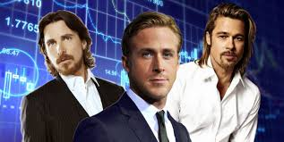 brad pitt christian bale and ryan gosling join financial drama