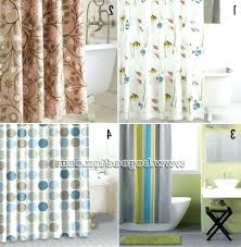 Temporary Shower Curtain Permanent Shower Curtain Rod Ctemporary Rubbed Bronze Fixed