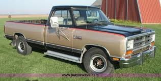 1990 dodge ram 1500 1990 dodge ram d 250 le truck item 1500 sold feb