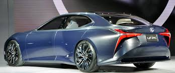 lexus lf lc cost lexus lf fc shows off hydrogen power the green optimistic