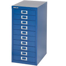 Bisley Filing Cabinet Bisley 10 Multidrawer Filing Cabinet 29 10 Oxford Blue