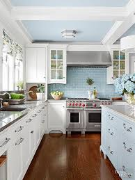 Blue And White Kitchen Cabinets Best 25 Cottage Style Kitchens Ideas Only On Pinterest Cottage