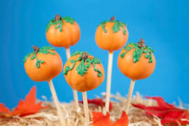 pumpkin cake pops thanksgiving
