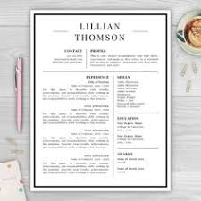 Modern Resume Templates Modern Resume Template For Use With Microsoft Word