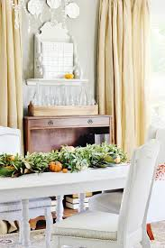 magnolia farms dining table changes and a bay leaf magnolia evergreen holly garland