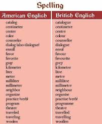 how do you spell travelling images Important american and british spelling differences you should jpg