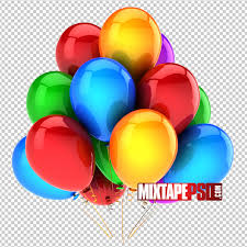 free balloons free colorful balloons template mixtapepsd