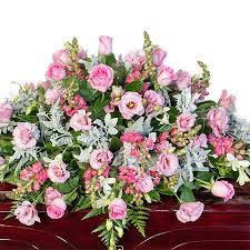 funeral casket funeral casket flowers delicate pink