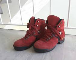 womens leather hiking boots canada s walking hiking boots etsy