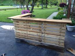 Patio Furniture Out Of Wood Pallets by Bar Made From Upcycled Pallets And 200 Year Old Barn Wood Please