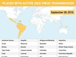 Bahamas World Map See The Zika Virus U0027 Local Transmission Cases On A Map Business