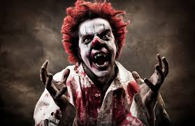 scary halloween costumes ideas clown blood halloween party