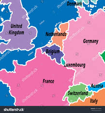 Map Of Germany And Austria by A Map Of Denmark And Northern Germany Showing The Proposed