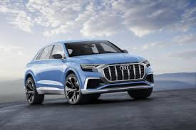 the audi q8 concept looks ready to roll into showrooms and onto