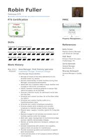 Logistics Specialist Resume Sample by Training Specialist Resume Samples Visualcv Resume Samples Database