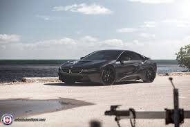 bmw i8 gold blacked out bmw i8 looks stealthy with hre wheels