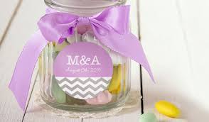 wedding favor jars wedding favor labels stickeryou products