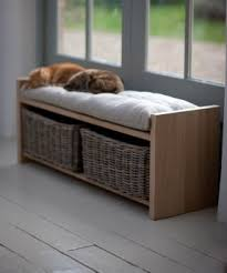 rattan storage benches foter