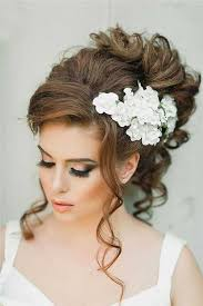 wedding hair 20015 5 easy wedding hairstyles and haircuts with flowers