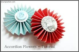 Making Of Flowers With Paper - flower making