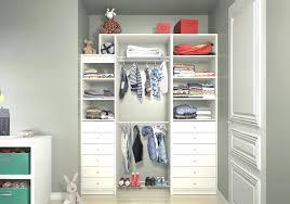 armoire penderie chambre bebe pour placard tour 7 dressing