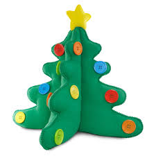 keepsake kids plush tabletop christmas tree keepsake ornaments