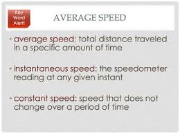 middle science speed and velocity introduction by the