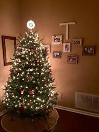 8 best real decorated trees images on