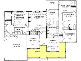 4 bedroom ranch floor plans floor plans for 4 bedroom ranch house chercherousse