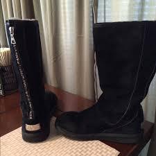 zipper ugg boots sale 60 ugg boots black ugg back zipper boot knightsbridge from