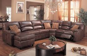 sofa reclining sectional couches awesome reclining sofa with