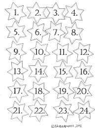 adventskalenderzahlen freebie noël pinterest advent