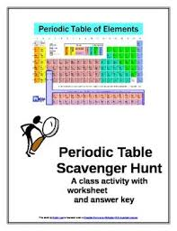 introduction to periodic table lab activity worksheet answer key 13 best periodic fun images on pinterest chemistry class