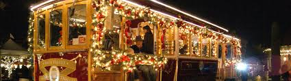 napa holiday wine trolley tours napa holiday light tours